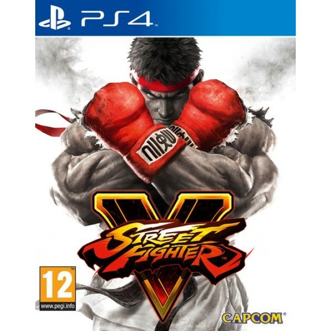 Игра Street Fighter V (PS4) (rus sub)