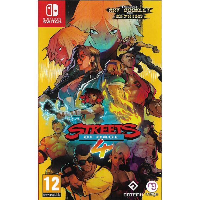 Игра Streets of Rage 4 (Nintendo Switch) (rus sub)