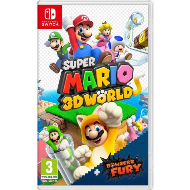 Игра Super Mario 3D World + Bowser's Fury (Nintendo Switch) (rus)