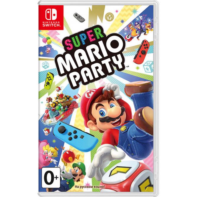 Игра Super Mario Party (Nintendo Switch) (rus)