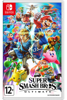 Игра Super Smash Bros. Ultimate (Nintendo Switch) (rus) б/у