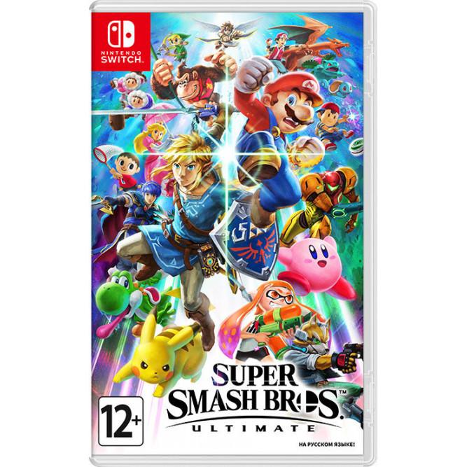 Игра Super Smash Bros. Ultimate (Nintendo Switch) (rus) б/у