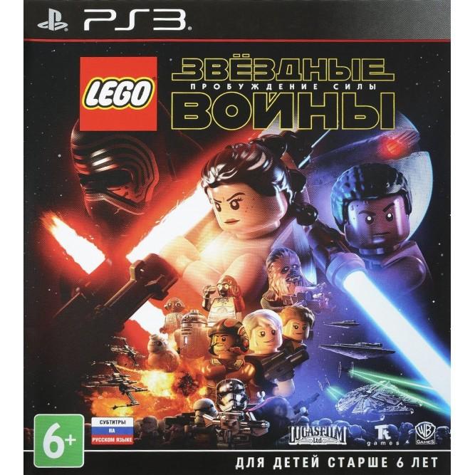 Игра LEGO Star Wars: The Force Awakens (LEGO Звёздные Войны: Пробуждение Силы) (PS3) б/у