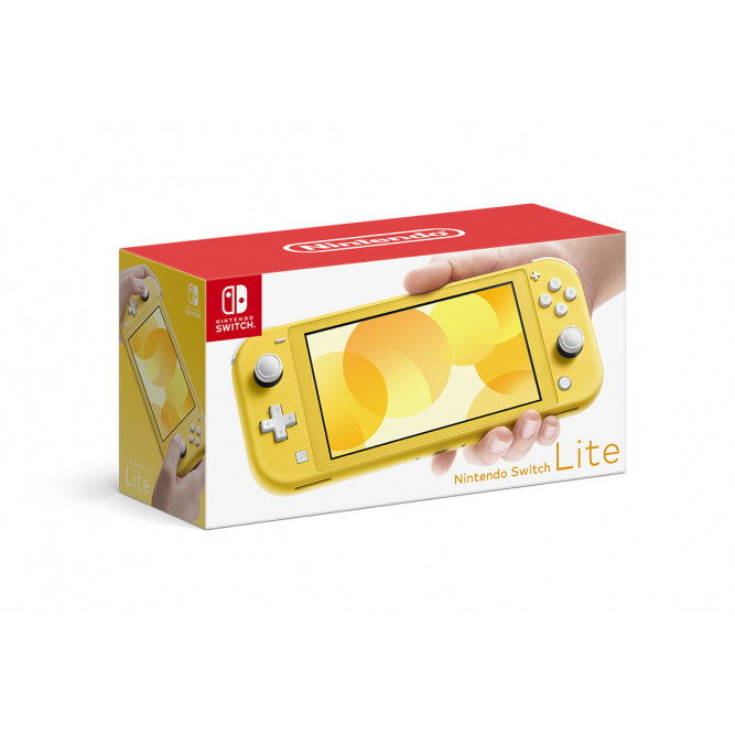 Приставка Nintendo Switch Lite (Желтая)