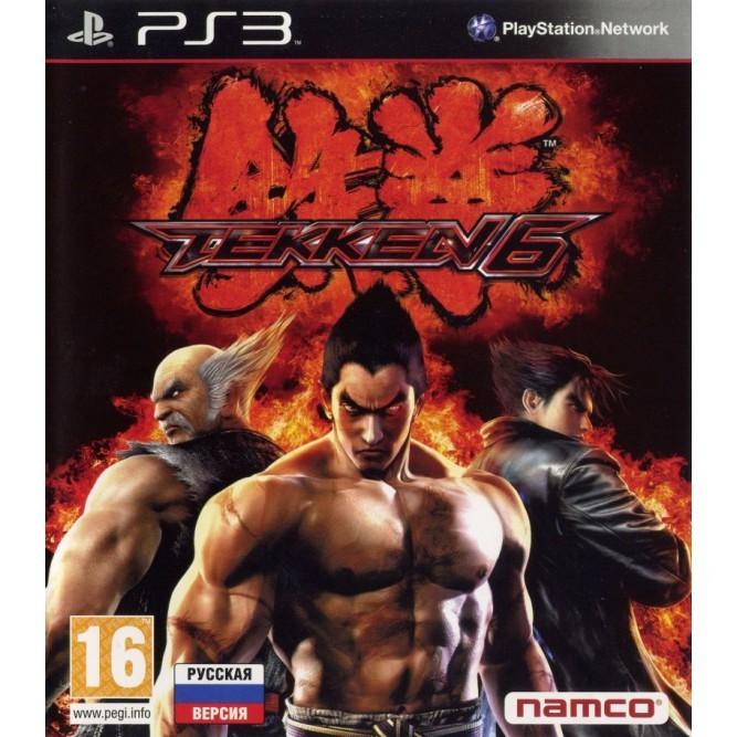 Игра Tekken 6 (PS3) б/у