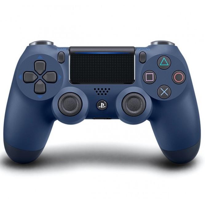 Геймпад Sony Dualshock 4 (PS4) V2, Темно-синий (аналог)