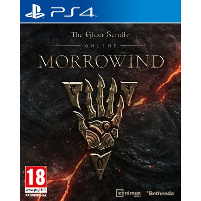 Игра The Elder Scrolls Online: Morrowind (PS4) б/у (rus)