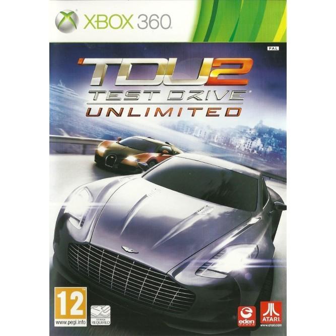 Игра Test Drive Unlimited 2 (TDU 2) (Xbox 360) б/у