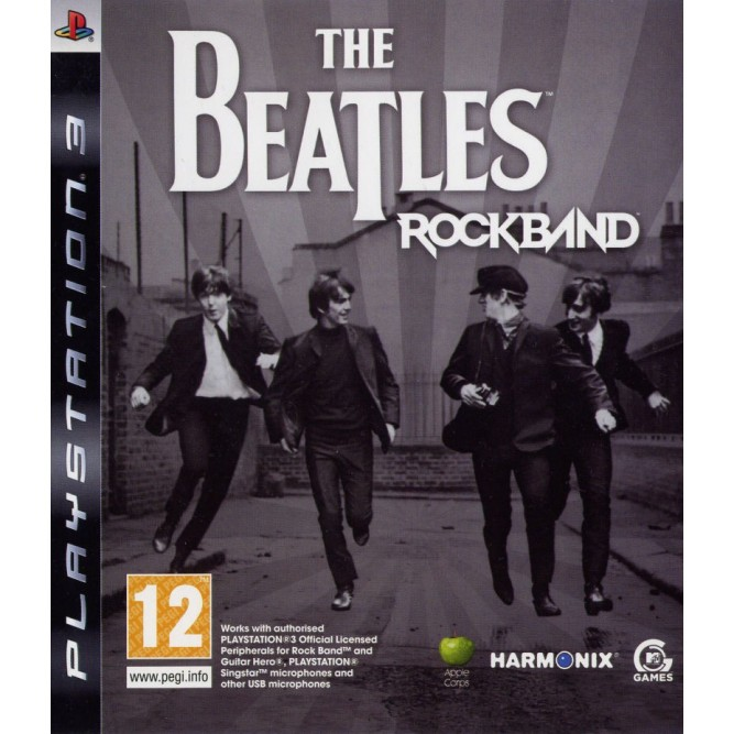 Игра The Beatles: Rockband (PS3) б/у (eng)