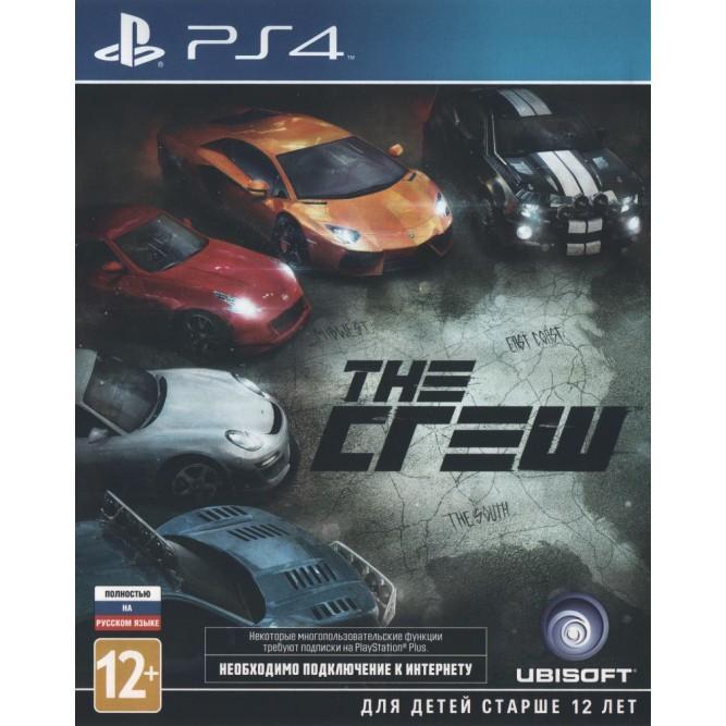 Игра The Crew (PS4) б/у