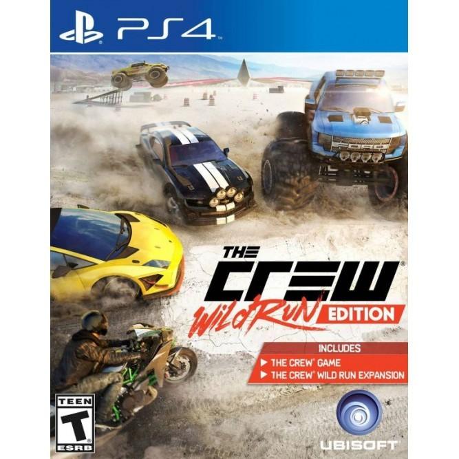 Игра The Crew: Wild Run Edition (PS4) б/у