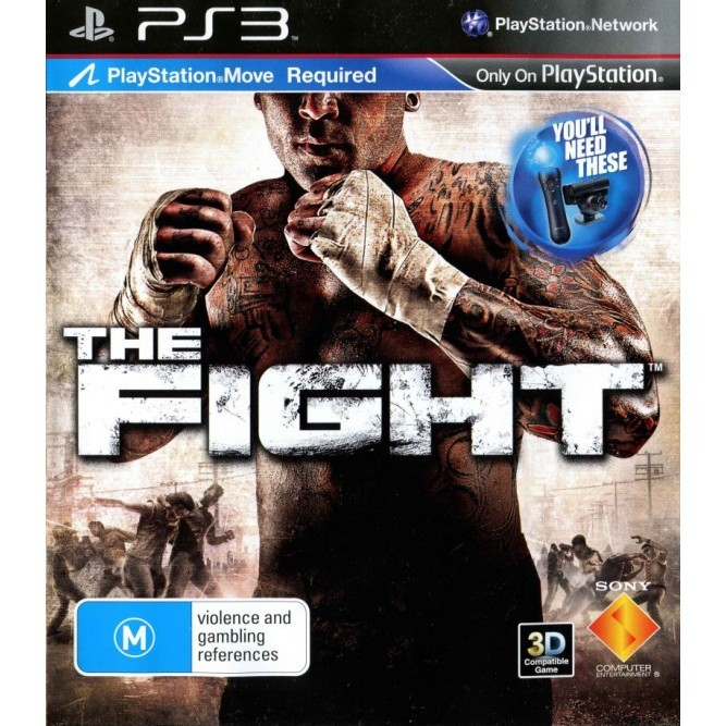 Игра The Fight (Только для Move) (PS3) б/у (eng)