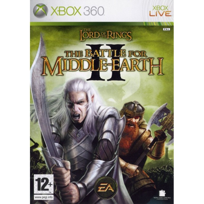 Игра The Lord of the Rings: The Battle for Middle-Earth II (Xbox 360) б/у