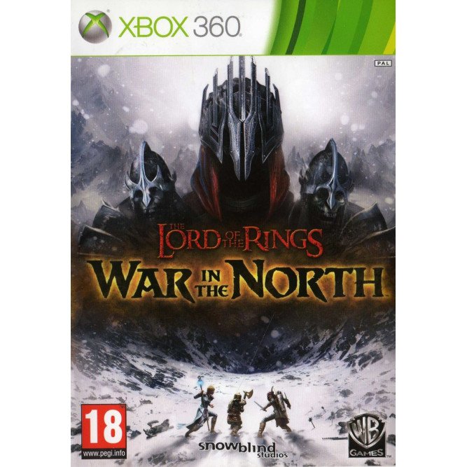Игра Lord of the Rings: War in the North (Xbox 360) б/у