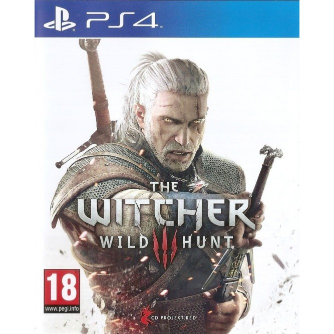 Игра The Witcher 3: Wild Hunt (PS4) б/у