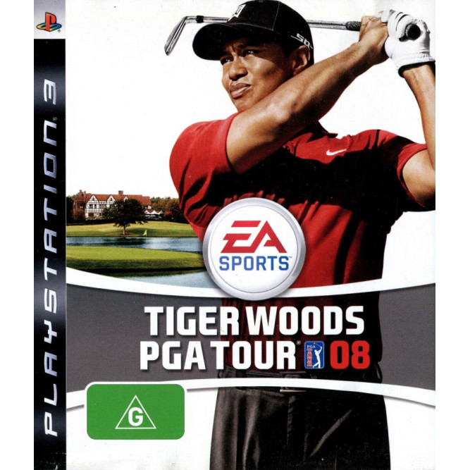 Игра Tiger Woods PGA Tour 08 (PS3) б/у
