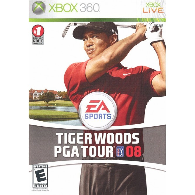 Игра Tiger Woods PGA Tour 08 (Xbox 360) б/у
