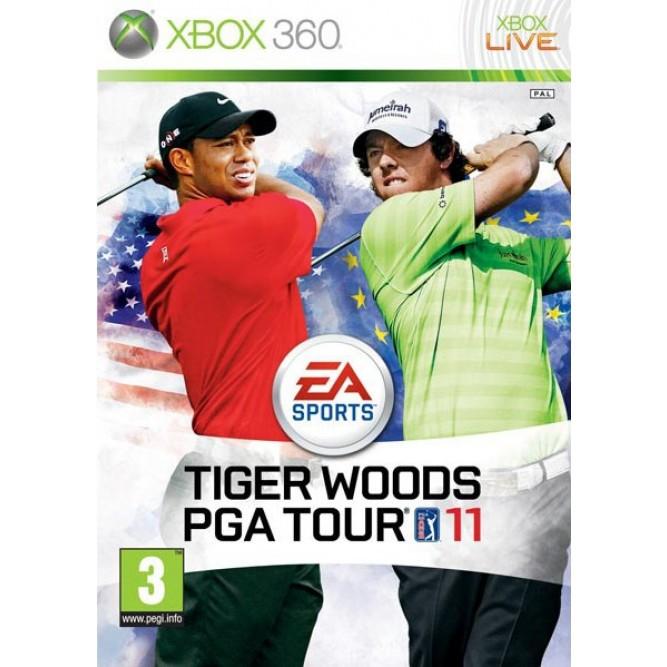 Игра Tiger Woods PGA Tour 11 (Xbox 360) б/у