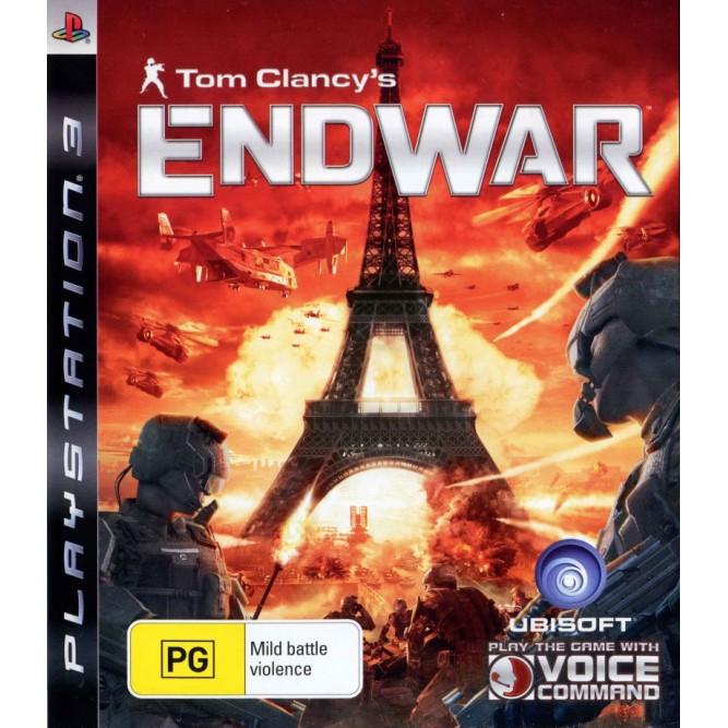 Игра Tom Clancy's EndWar (PS3) б/у
