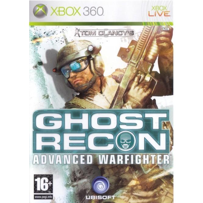 Игра Tom Clancy's Ghost Recon: Advanced Warfighter (Xbox 360) б/у