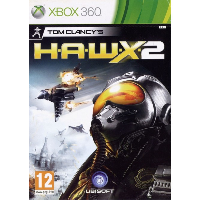 Игра Tom Clancy's H.A.W.X. 2 (Xbox 360) б/у