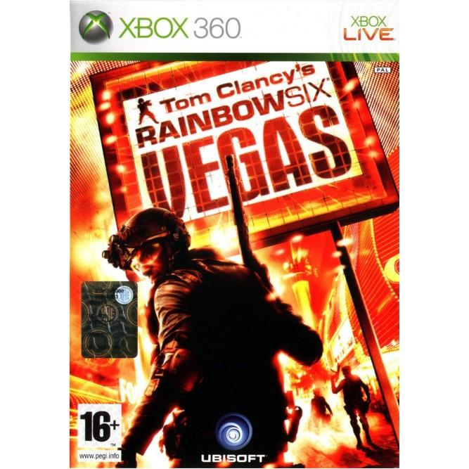 Игра Tom Clancy's Rainbow Six: Vegas (Xbox 360) б/у