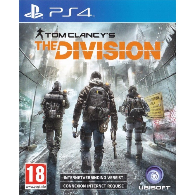 Игра Tom Clancy's The Division (PS4) (eng) б/у