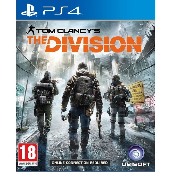 Игра Tom Clancy's The Division (PS4) б/у