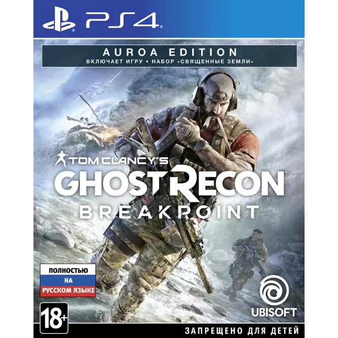 Игра Tom Clancy's Ghost Recon: Breakpoint (Auroa Edition) (PS4) (rus) б/у