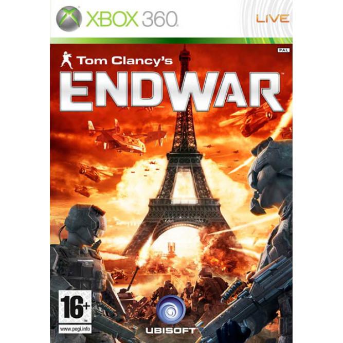 Игра Tom Clancy's End War (Xbox 360) б/у