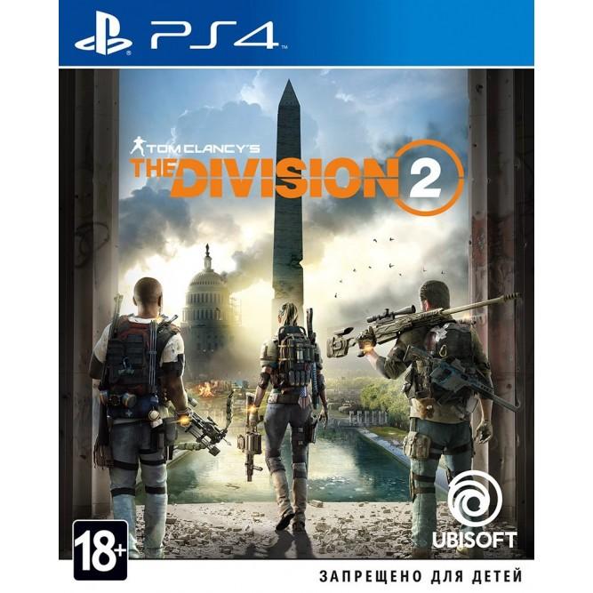 Игра Tom Clancy's The Division 2 (PS4) б/у (rus)