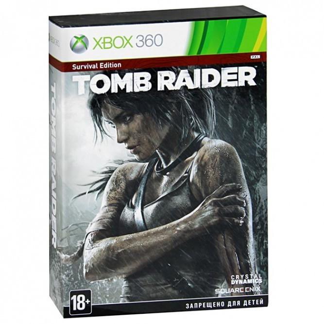 Игра Tomb Raider: Survival Edition (Xbox 360) б/у (rus)