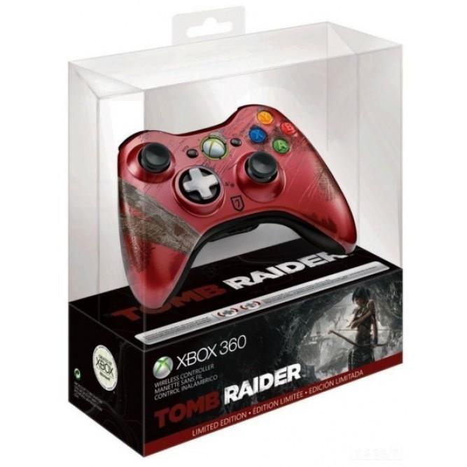 Геймпад беспроводной для Xbox 360 в стиле Tomb Raider (Limited Edition) б/у