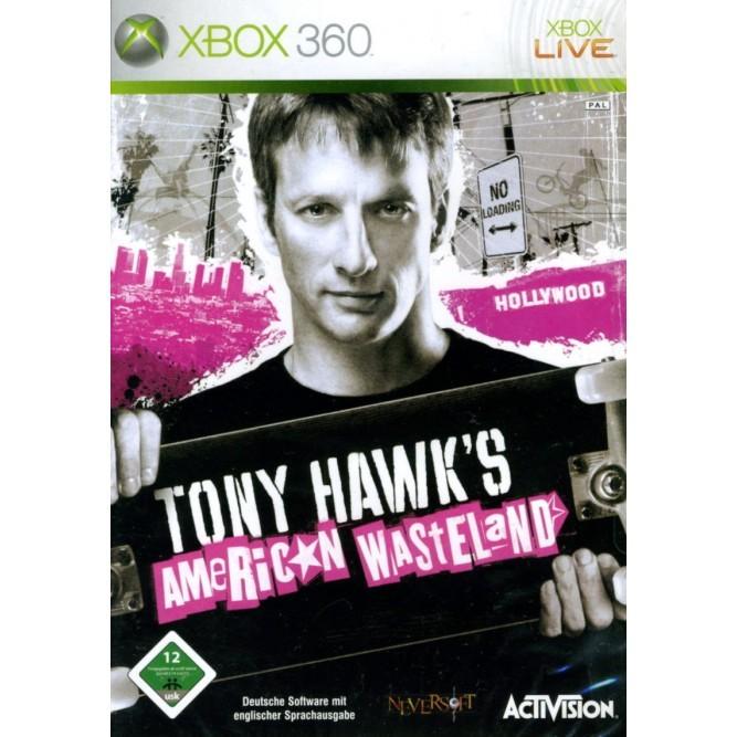Игра Tony Hawk's American Wasteland (Xbox 360) б/у (eng)