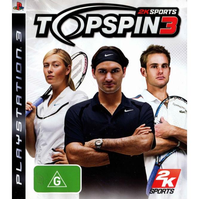 Игра Top Spin 3 (PS3) б/у