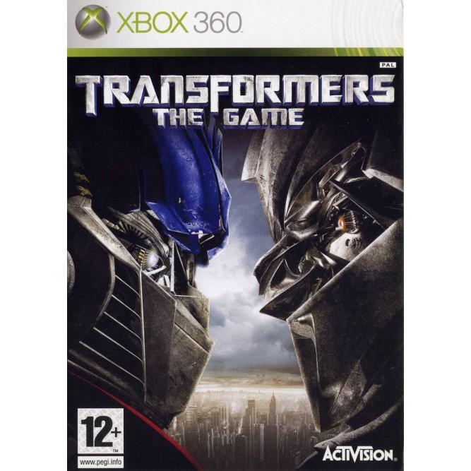 Игра Transformers: The Game (Xbox 360) б/у