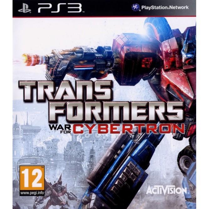 Игра Transformers: War for Cybertron (PS3) б/у