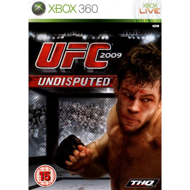 Игра UFC Undisputed 2009 (Xbox 360) б/у