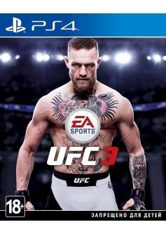 Игра UFC 3 (PS4) (rus sub) б/у