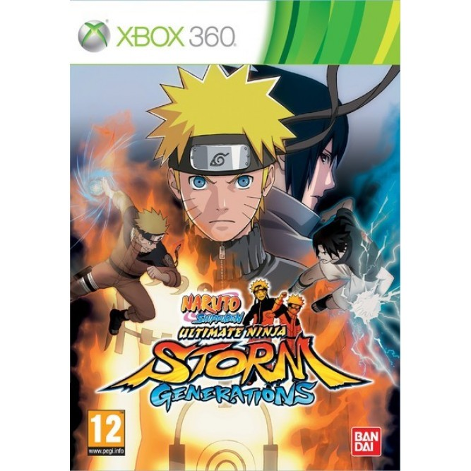 Игра Naruto Shippuden: Ultimate Ninja Storm Generations (Xbox 360) б/у