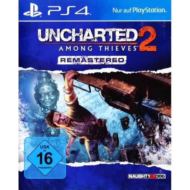 Игра Uncharted 2: Among Thieves Remastered (Среди воров) (PS4) б/у