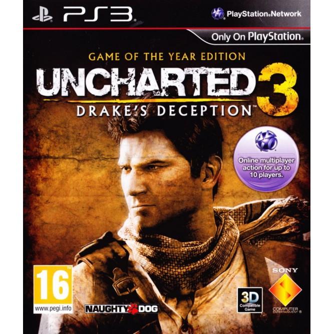 Игра Uncharted 3. Иллюзии Дрейка. Издание «Игра Года» (PS3) б/у
