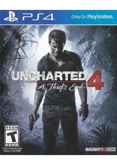 Игра Uncharted 4: Путь Вора (PS4) б/у