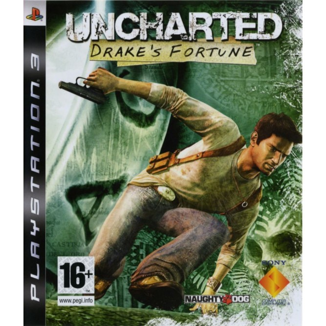 Игра Uncharted: Drake's Fortune (PS3)