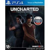 Игра Uncharted: Утраченное наследие (PS4) б/у