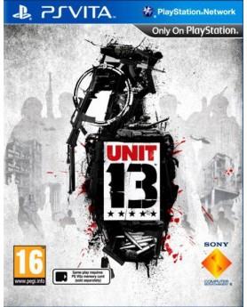 Игра Unit 13 (PS Vita) б/у (rus)