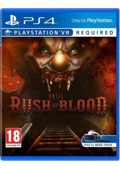 Игра Until Dawn: Rush of Blood (PS4) только для VR (rus)