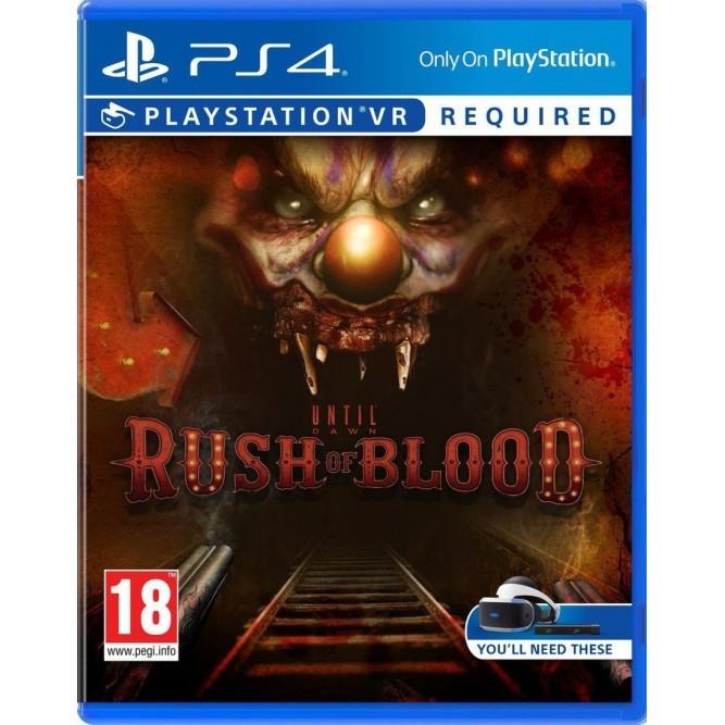 Игра Until Dawn: Rush of Blood (PS4) только для VR (rus)