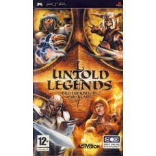 Игра Untold Legends: Brotherhood of the Blade (PSP) б/у (eng)