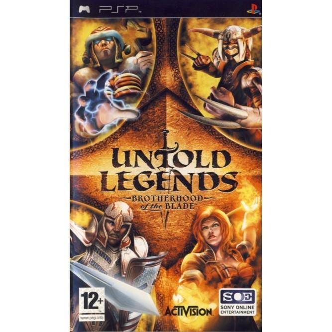 Игра Untold Legends: Brotherhood of the Blade (PSP) б/у (eng)